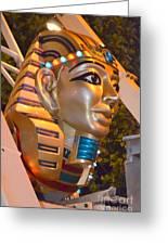 Pharaoh's Canoe Greeting Card