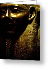 Pharaohs Curse Greeting Card