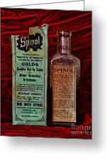 Pharmacy - Cold Remedy Greeting Card