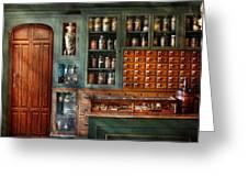 Pharmacy - Medicine - Pharmaceutical Remedies  Greeting Card
