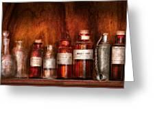 Pharmacy - Pharmacist's Fancy Fluids Greeting Card
