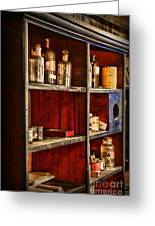 Pharmacy - The Back Room Greeting Card