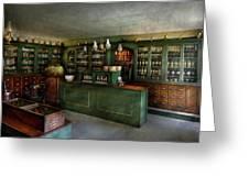 Pharmacy - The Chemist Shop  Greeting Card