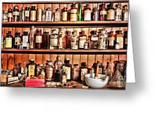 Pharmacy - The Medicine Shelf Greeting Card