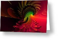 Pheasant Fire  Greeting Card