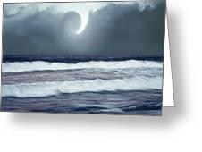 Phenomenon Above The Sea Greeting Card
