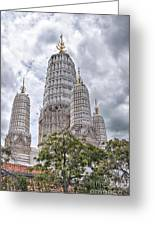 Phetchaburi Temple 17 Greeting Card