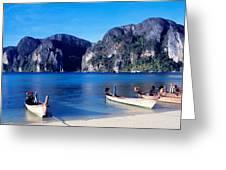 Phi Phi Islands Thailand Greeting Card