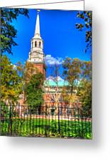 Philadelphia Christ Church 2 Greeting Card