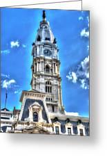 Philadelphia City Hall 1 Greeting Card