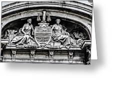 Philadelphia City Hall - City Seal  Greeting Card