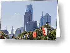 Philadelphia - City On The Rise Greeting Card
