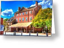 Philadelphia City Tavern Greeting Card