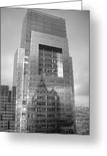 Philadelphia Comcast Building Greeting Card