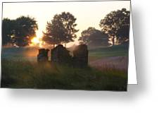 Philadelphia Cricket Club At Sunrise Greeting Card by Bill Cannon