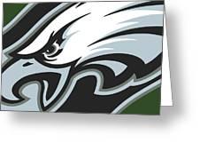 Philadelphia Eagles Football Greeting Card