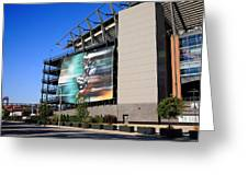 Philadelphia Eagles - Lincoln Financial Field Greeting Card by Frank Romeo