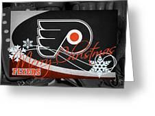 Philadelphia Flyers Christmas Greeting Card