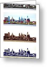 Philadelphia Four Seasons Greeting Card