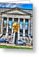 Philadelphia Franklin Museum Greeting Card
