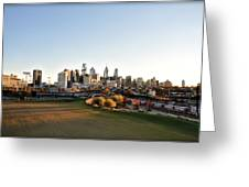 Philadelphia From South Street Greeting Card