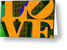 Philadelphia Love - Painterly V4 Greeting Card