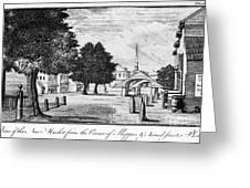 Philadelphia Market, 1788 Greeting Card
