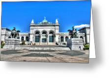 Philadelphia Memorial Hall Please Touch Museum Greeting Card