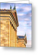 Philadelphia Museum Of Art Facade Greeting Card