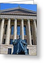Philadelphia Museum Of Art John Marshall Chief Justice Of The Us  Greeting Card