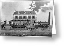 Philadelphia Railroad Greeting Card