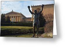 Philadelphia - Rocky  Greeting Card