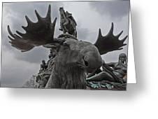 Philadelphia Statue Greeting Card