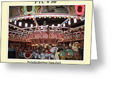 Philadelphia Toboggan Company Carousel Greeting Card