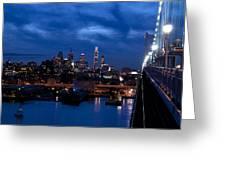Philadelphia Twilight Greeting Card