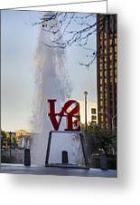 Philadelphia's Love Story Greeting Card