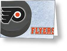 Philadephia Flyers Greeting Card
