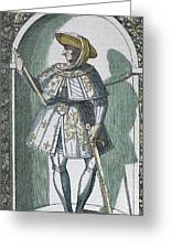 Philip IIi 'the Good' (dijon, 1396 Greeting Card