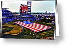 Phillies American Greeting Card