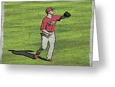 Phillies Catch Greeting Card