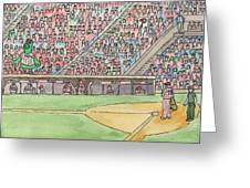 Phillies Game Greeting Card