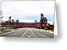 Phillies Stadium - Citizens Bank Park Greeting Card