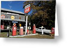 Phillips 66 With The Ranchero Greeting Card