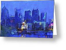 Philly Blue Greeting Card