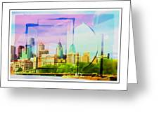 Philly Colours Greeting Card