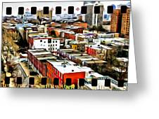 Philly Filmstrip Greeting Card by Alice Gipson