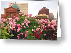 Philly Roses Greeting Card