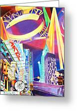 Phish New Years In New York Left Panel Greeting Card