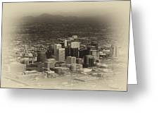 Phoenix Az Downtown 2014 Heirloom Greeting Card
