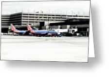 Phoenix Az Southwest Planes Greeting Card
